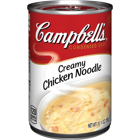 Campbell's® Condensed Creamy Chicken Noodle Soup 10.5 oz - image 1 of 5