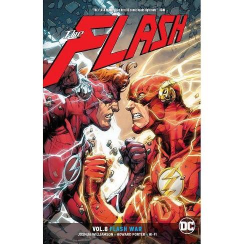 70780e13757 The Flash Vol. 8: Flash War - By Joshua Williamson (Paperback) : Target