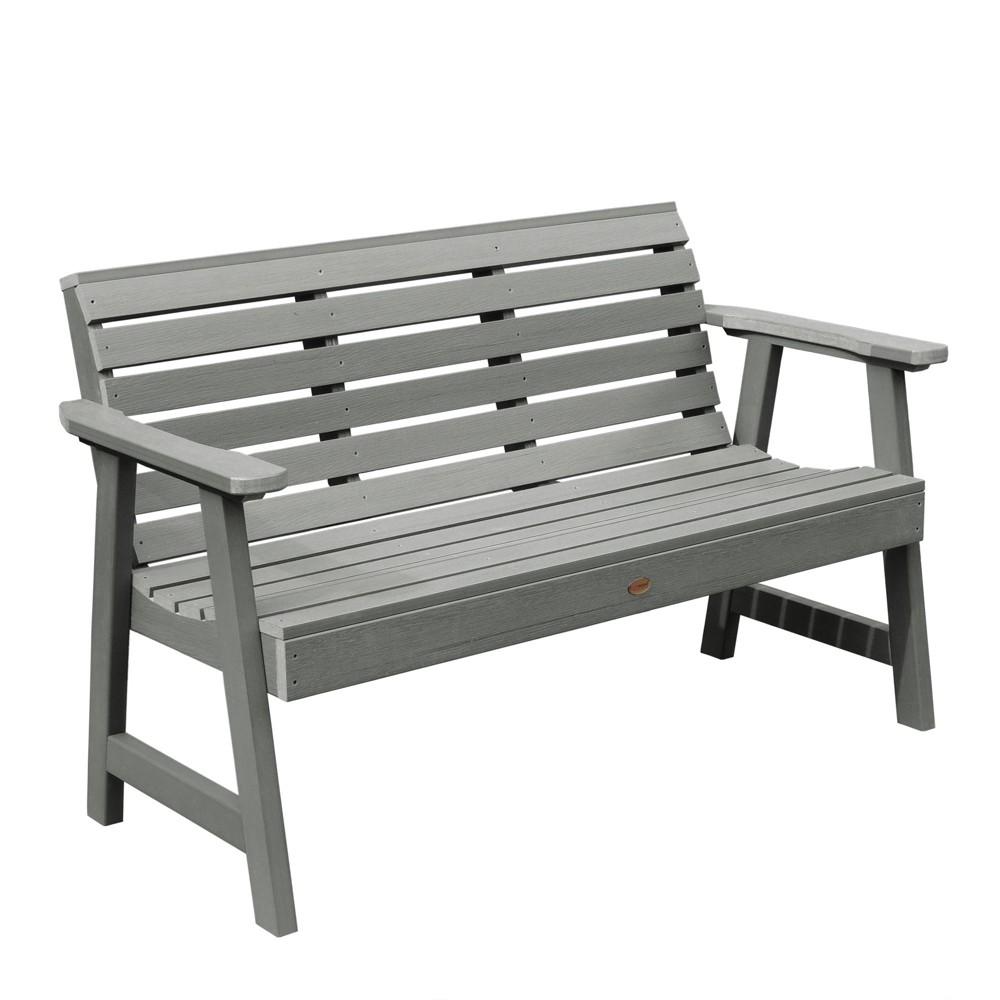 Weatherly Garden Bench 4ft Coastal Teak Gray- Highwood, Coastal Teak Gray