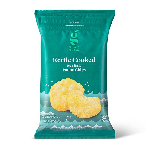 Traditional Kettle Chips - 8oz - Good & Gather™ - image 1 of 3