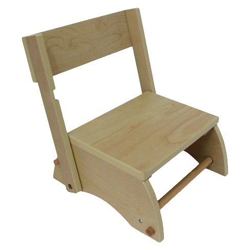 Kids Windsor Step Stool Small/Natural - Teamson - image 1 of 1