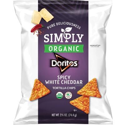 Tortilla & Corn Chips: Doritos Simply