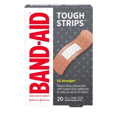 Bandages & Gauze: Band-Aid Tough Strips