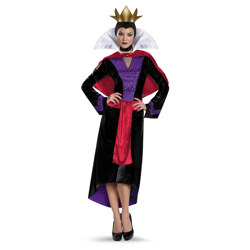 Disney Villains Women's Evil Queen Costume - Medium, Multicolored