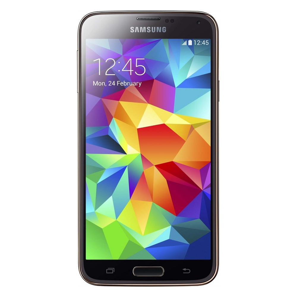 Samsung Galaxy S5 Certified Pre-Owned (GSM Unlocked) 16GB Smartphone - Gold