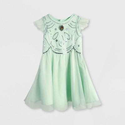 Girls' Disney Aladdin Jasmine Tutu Dress - Green - Disney Store