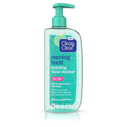 Clean & Clear Morning Burst Oil-Free Hydrating Face Wash - 8 fl oz - image 1 of 4