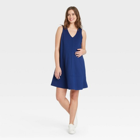 The Nines by HATCH™ Sleeveless Ponte Maternity Dress - image 1 of 3
