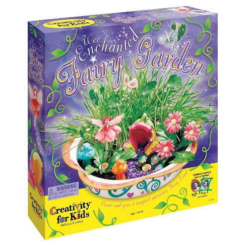Create Your Own Wee Enchanted Fairy Garden - Creativity for Kids ...