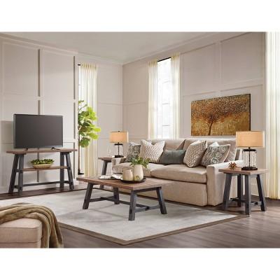 Set Midnight Black Alaterre Furniture, Target Living Room Furniture