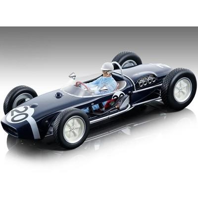 Lotus 18 #20 Stirling Moss Winner Championship F1 Monaco GP (1961) w/Driver Figurine Ltd Ed 310 pcs 1/18 Model Car by Tecnomodel