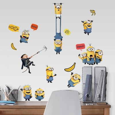 Minions 2 Peel and Stick Wall Decals - RoomMates