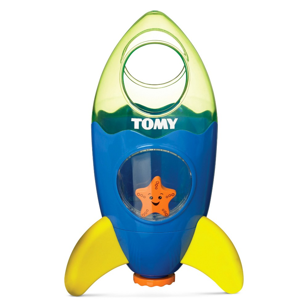 Toomies Fountain Rocket Bath Toy - Blue/Yellow