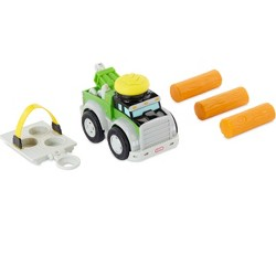 Little Tikes Slammin' Racers Power Rigs Tow Truck Vehicle with Sounds