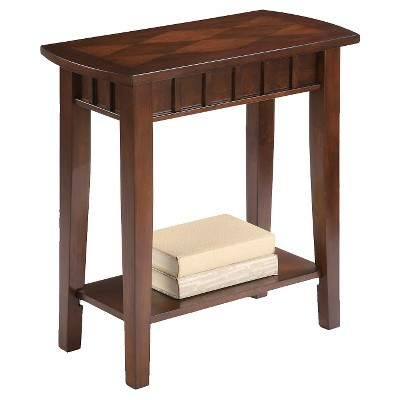 Traditional End Table Brown - Ore International