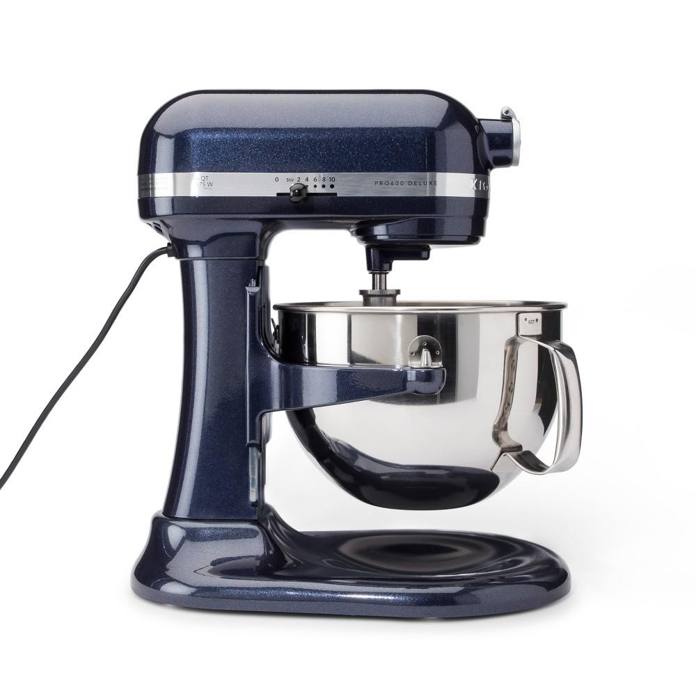 KitchenAid Refurbished Professional 600 Series 6qt Bowl-Lift Stand Mixer - Blueberry RKP26M1XUB, Dark Blue