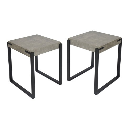 Tremendous Balestier Set Of 2 Modern Contemporary End Table Christopher Knight Home Home Interior And Landscaping Spoatsignezvosmurscom