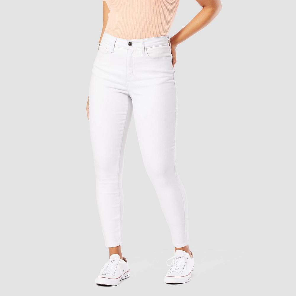 Denizen 174 From Levi 39 S 174 Women 39 S High Rise Super Skinny Jeans Bright White 8