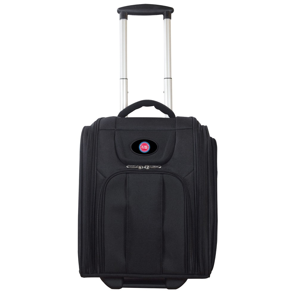 NBA Detroit Pistons Deluxe Wheeled Laptop Briefcase Overnighter, Adult Unisex, Size: Small