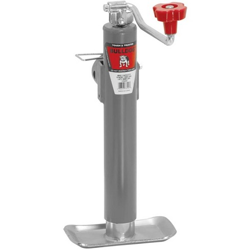 Bulldog 1781010117 Heavy Duty Universal 5,000 Pound A Frame Topwind Trailer Jack Stand with 10 Inches of Travel - image 1 of 2