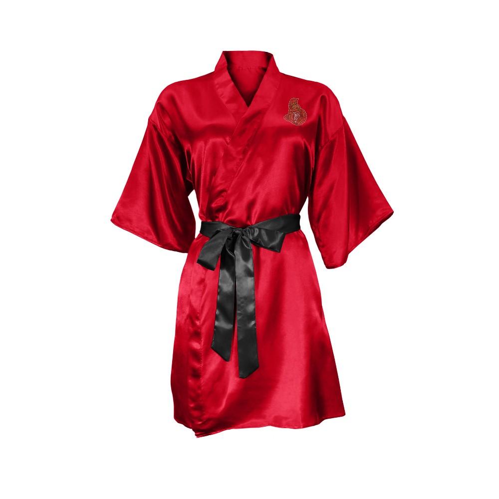 Ottawa Senators Satin Kimono - S/M, Girl's, Multicolored