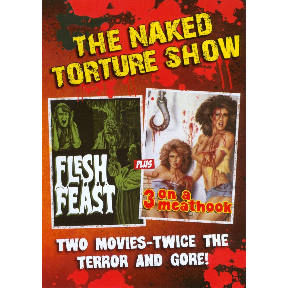 Naked torture double feature (Dvd)