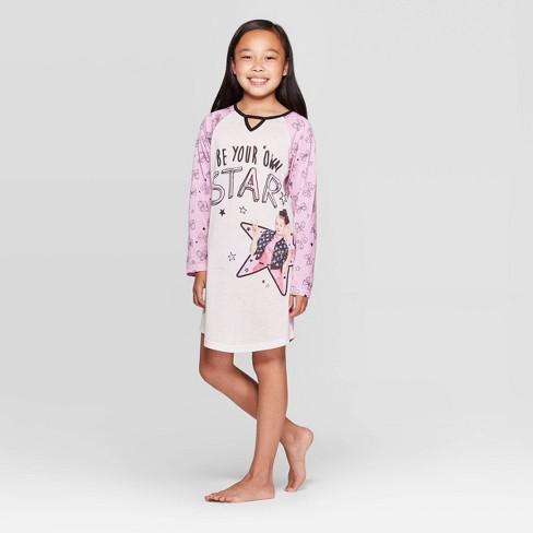 Girls' JoJo Siwa Dorm Nightgown - Pink - image 1 of 3