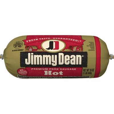 Jimmy Dean Hot Pork Sausage Roll - 16oz