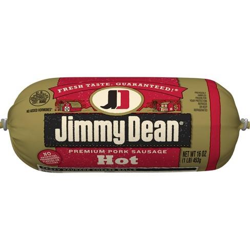 Jimmy Dean Hot Pork Sausage Roll - 16oz - image 1 of 4