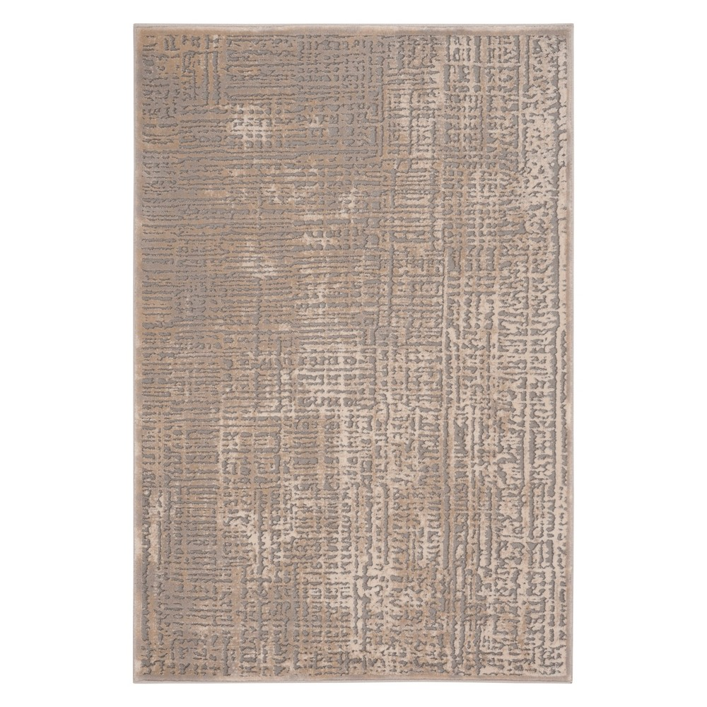 33X5 Solid Accent Rug Ivory/Gray - Safavieh Promos