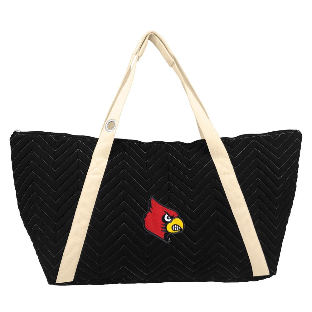 NCAA Louisville Cardinals Little Earth Chevron Stitch Weekender Bag