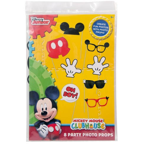 8ct Mickey Mouse Party Photo Props Target