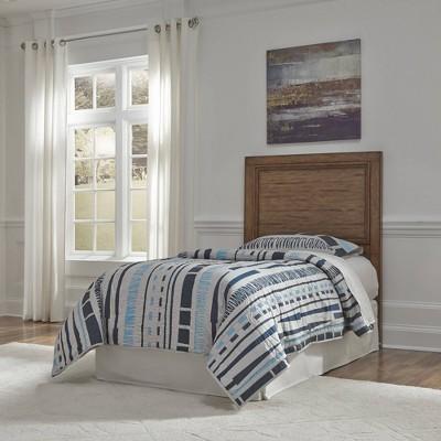 Twin Sedona Headboard Toffee Brown - Home Styles