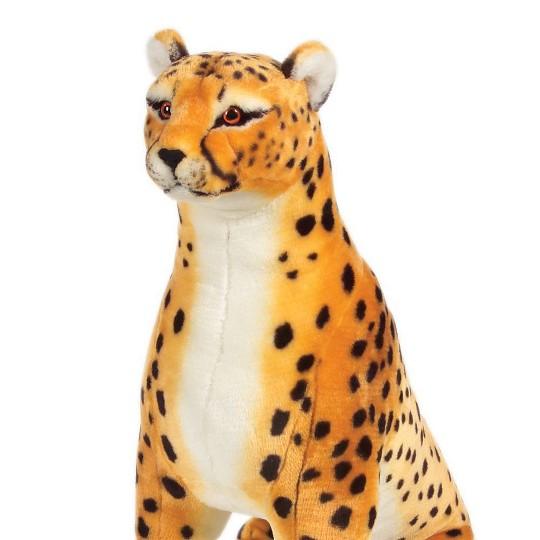 Melissa & Doug Giant Cheetah - Lifelike Stuffed Animal (over 4 feet long) image number null