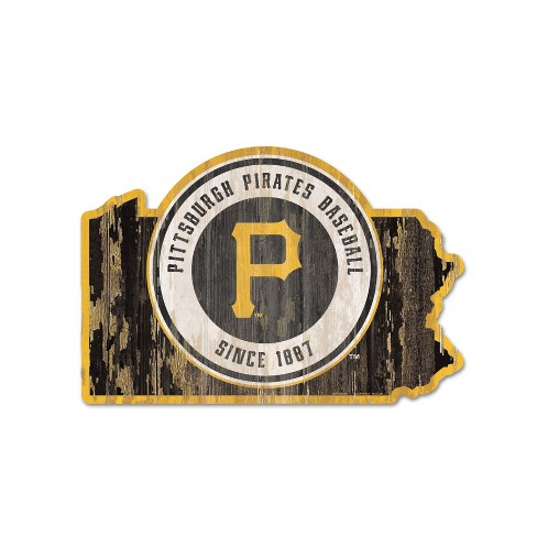 MLB Pittsburgh Pirates Wood State Sign - image 1 of 1