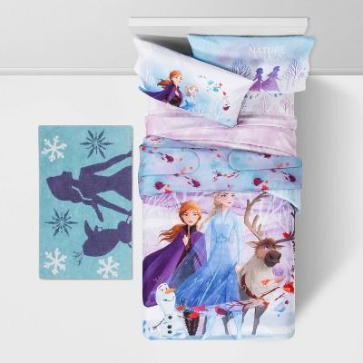 "Disney Frozen 2 Princess Elsa and Anna 12"" Round Pillow Plush Set Of 2"