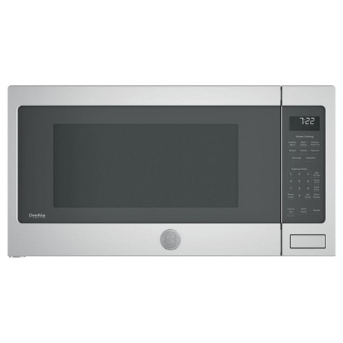 GE Profile 2.2 Cubic Foot Countertop Microwave, Gray (Refurbished) - image 1 of 4