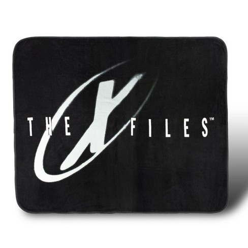 Se7en20 The X-Files I Want To Believe Lightweight Fleece Throw Blanket | 50 x 60 inches - image 1 of 6