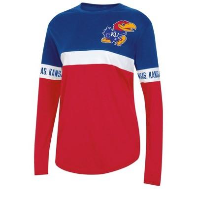 NCAA Kansas Jayhawks Women's Long Sleeve T-Shirt