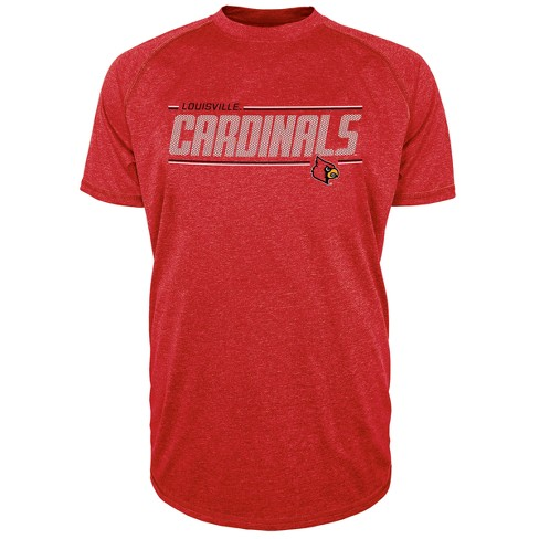 Louisville Cardinals Men's Team Speed Poly Performance T-Shirt - image 1 of 1