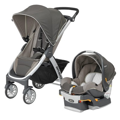 Chicco Bravo Travel System - Papyrus