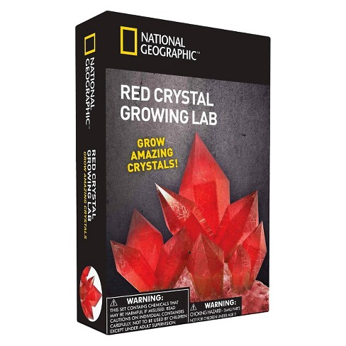 National Geographic Crystal Growing Lab Red Target