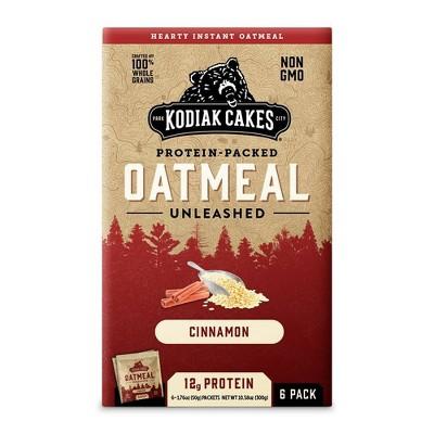 Kodiak Cakes Cinnamon Oatmeal - 6pk