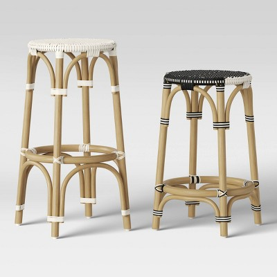 Perry Rattan Woven Stool Collection - Threshold™