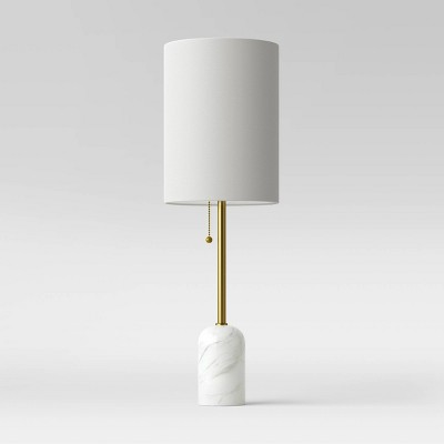 Marble Base Table Lamp (Includes LED Light Bulb)Brass - Project 62™