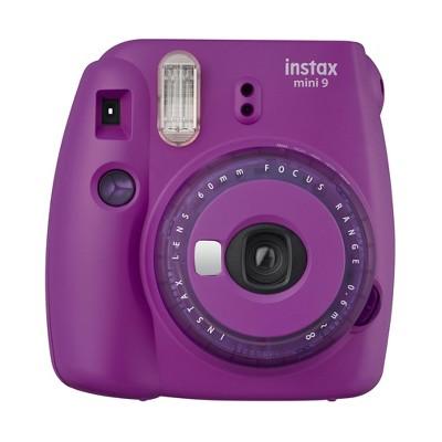 Fujifilm Instax Mini 9 Camera - Purple Clear