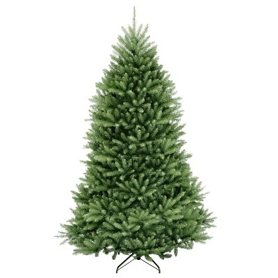 7.5ft National Christmas Tree Company Dunhill Fir Hinged Full Artificial Christmas Tree