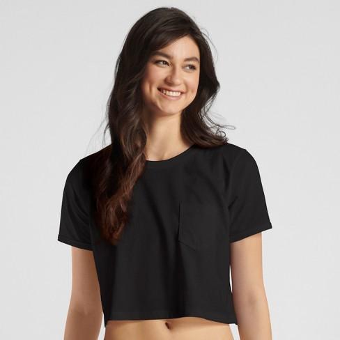 e423e033f4014 JKY® By Jockey Women s Retro Vibes Cropped T-shirt   Target