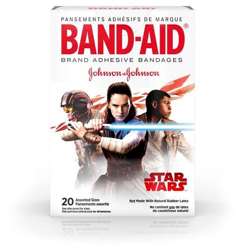 Band-Aid Star Wars Adhesive Bandages - 20ct - image 1 of 4