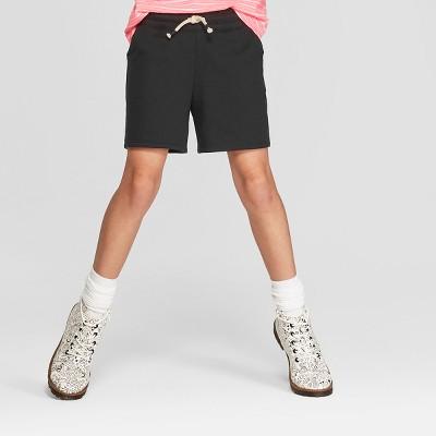 f108b147e77a Girls  Knit Midi Shorts - Cat ...